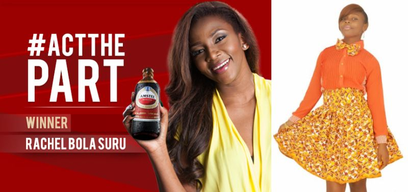 Genevieve Nnaji Announces Winner for Amstel Malta Act the Part Competition - Bellanaija - July2014004