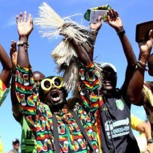 Ghana Football Fans in Brazil - July 2014 - BellaNaija.com
