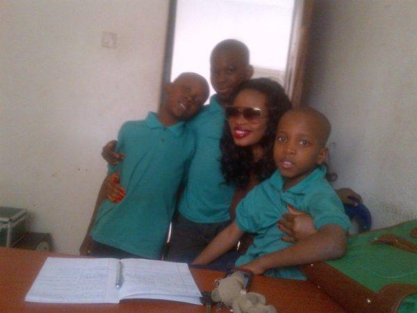 Gina Visits Orphanage - July 2014 - BellaNaija.com 01004