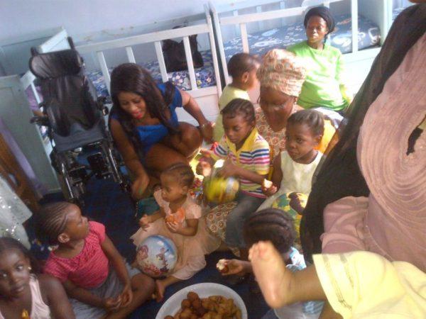 Gina Visits Orphanage - July 2014 - BellaNaija.com 01005