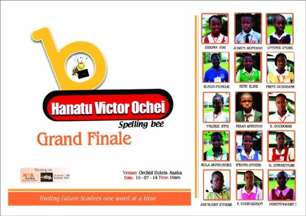 Hanatu Victor Ochei Spelling Bee Grand Finale - Bellanaija - July2014