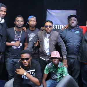 Jimmie, Falz, Reminisce, Young6ix, IllBliss, Olisa and finalists, Vemore and Kiiwii