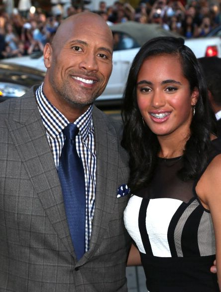 Dwayne Johnson & Simone Alexandra Johnson