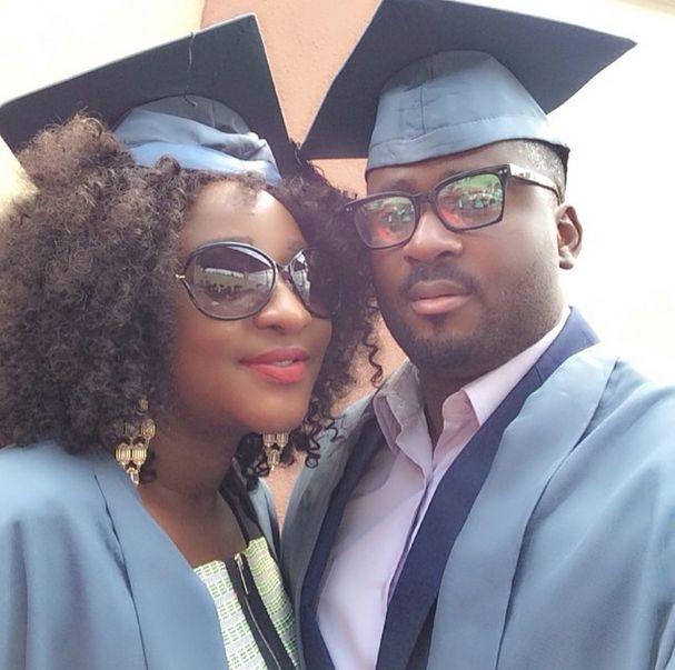 Ini Edo & Desmond Elliot - National Open University - July 2014 - BellaNaija.com 01
