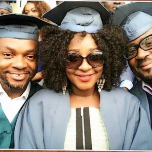 Ini Edo & Desmond Elliot - National Open University - July 2014 - BellaNaija.com 02