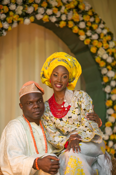 Jennifer & Abdul | Traditional Yoruba Lagos Nigerian Wedding | Photography by Abi | BellaNaija 036
