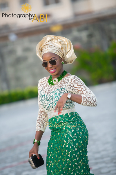 Jennifer & Abdul | Traditional Yoruba Lagos Nigerian Wedding | Photography by Abi | BellaNaija 043