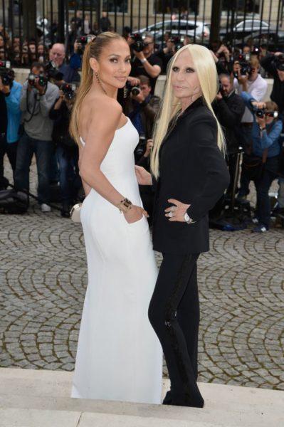 Jennifer Lopez & Donatella Versace
