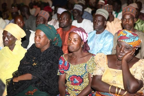 Jonathan Meets with Chibok Girls Parents - July 2014 - BellaNaija.com 01001