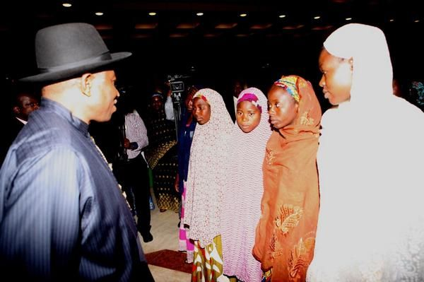 Jonathan Meets with Chibok Girls Parents - July 2014 - BellaNaija.com 01004