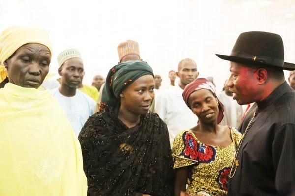Jonathan Meets with Chibok Girls Parents - July 2014 - BellaNaija.com 01010