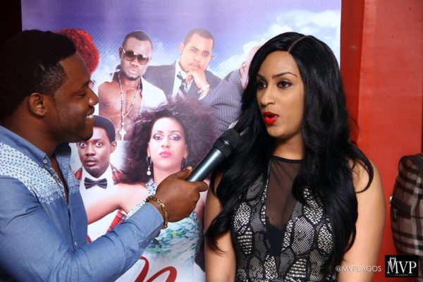 Juliet Ibrahim's Number One Fan in Lagos - July - 2014 - image005