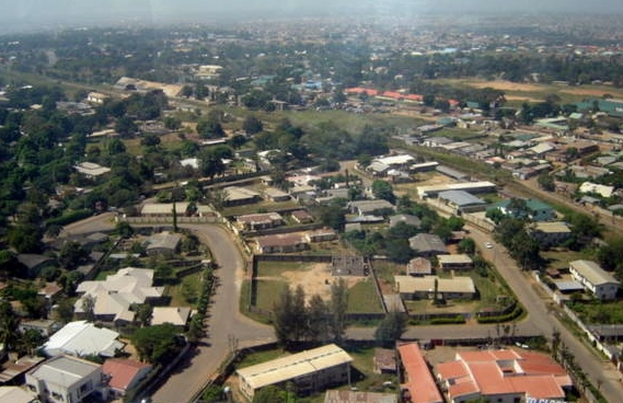 Kaduna aerial view