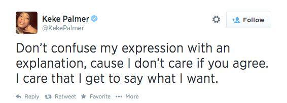 Keke Palmer's Reply to Rihanna Fans - July 2014 - BellaNaija.com 02