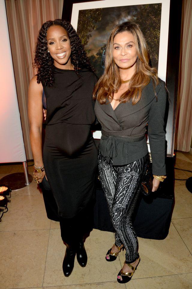 Kelly Rowland & Tina Knowles