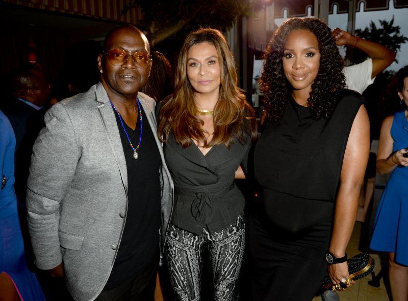 Randy Jackson, Tina Knowles, Kelly Rowland