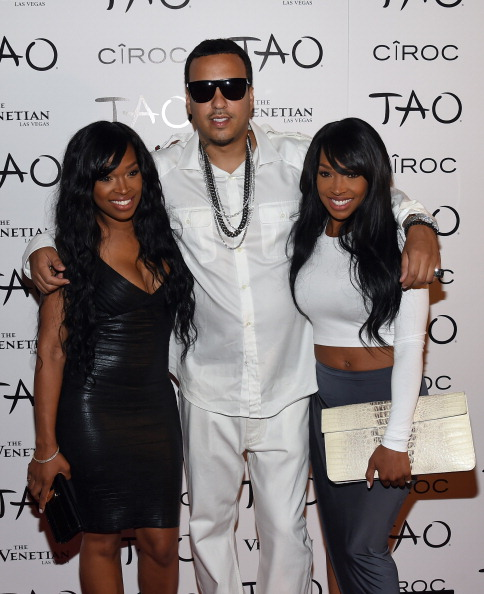 French Montana with Khadijah & Malika
