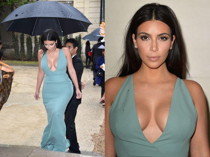 Kim Kardashian Her Girls Shine In Paris At Valentino 39 S