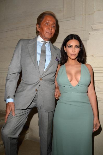 Valentino Garavani & Kim Kardashian