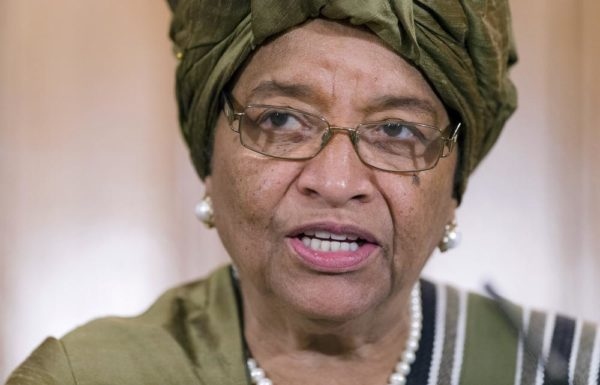 Liberia ruling party expels outgoing president Johnson Sirleaf