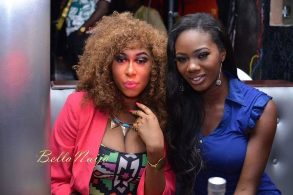 "Cynthia Morgan & Mercy ""Omo London"" Ajisafe"