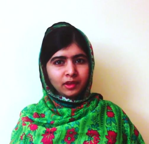 Malala Leaving Nigeria - July 2014 - BellaNaija.com 01
