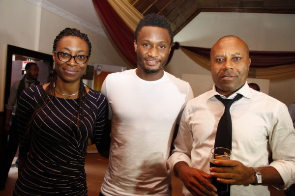Mikel at the Amstel Malta Press Event