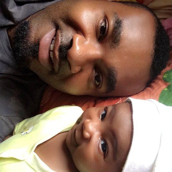 Muma Gee & Prince Eke Share Photos with their Twins - July 2014 - BellaNaija.com 01 (10)