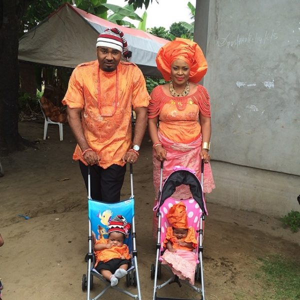 Muma Gee & Prince Eke Share Photos with their Twins - July 2014 - BellaNaija.com 01 (6)