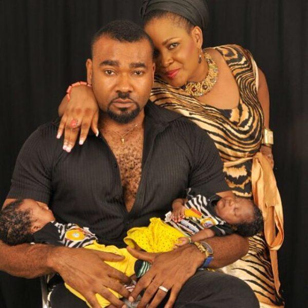 Muma Gee & Prince Eke Share Photos with their Twins - July 2014 - BellaNaija.com 01 (9)