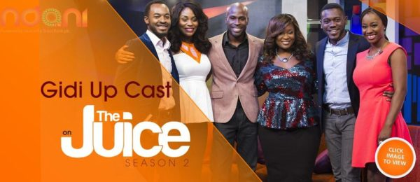 Ndani TV - Gidi Up Cast - July 2014 - BellaNaija.com 01