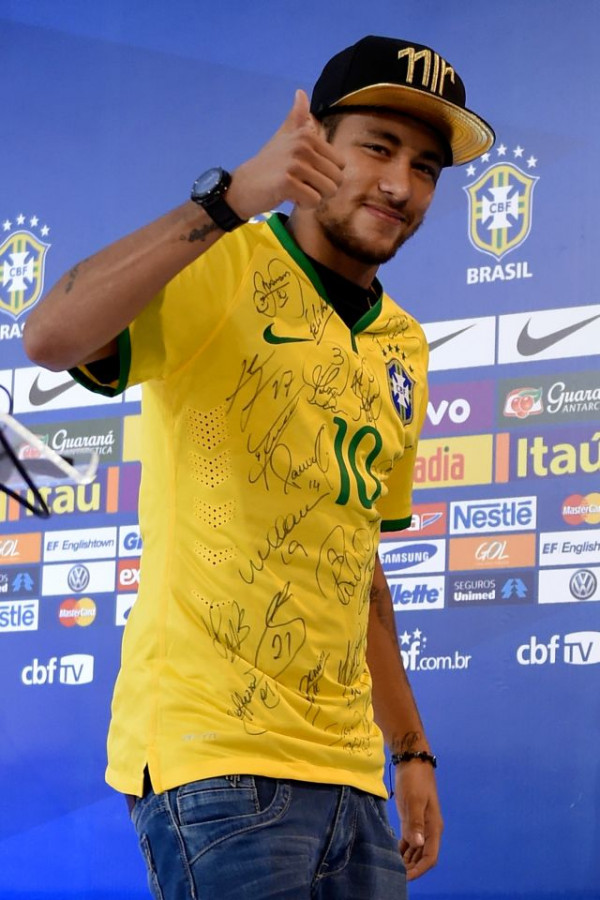 Brazil Training Session and Press Conference - 2014 FIFA World Cup