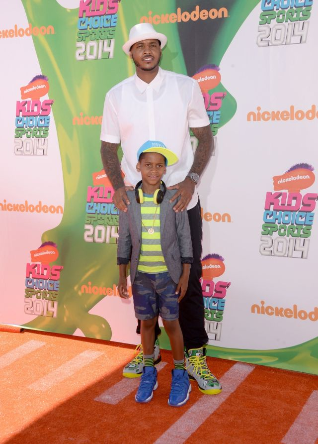 Carmello Anthony, Kiyan Anthony