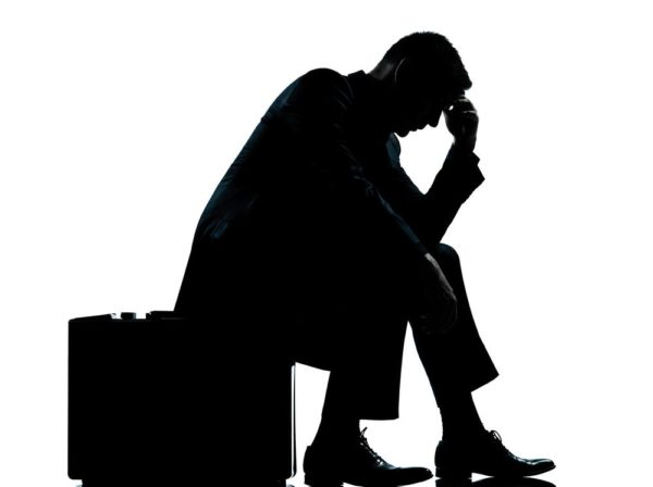 http://www.dreamstime.com/stock-image-one-business-man-sitting-suitcase-silhouette-image22650831
