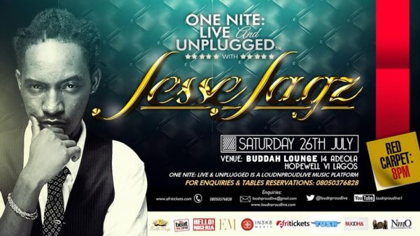 One Nite Live & Unplugged - Events This Weekend - July 2014 - BellaNaija.com 01