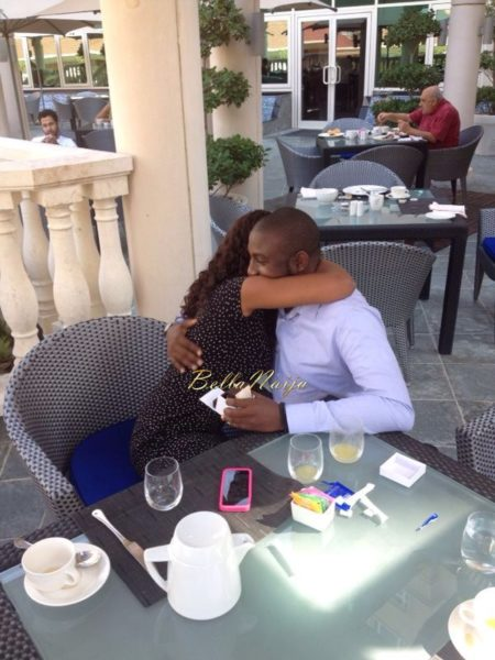 Onyinye & Kelechi | Proposal Dubai | BellaNaija 0photo