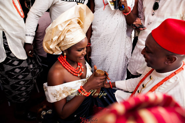 Onyinye & Olaolu's Igbo & Yoruba Wedding in Lagos | Bahamas Outdoor Beach Wedding | Gazmadu | BellaNaija 0016