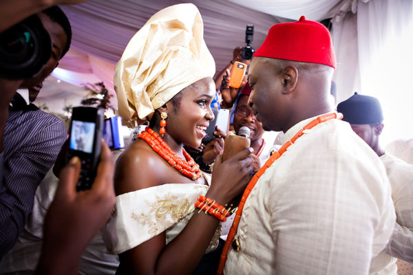 Onyinye & Olaolu's Igbo & Yoruba Wedding in Lagos | Bahamas Outdoor Beach Wedding | Gazmadu | BellaNaija 0017