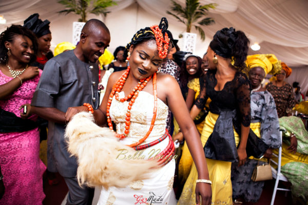 Onyinye & Olaolu's Igbo & Yoruba Wedding in Lagos | Bahamas Outdoor Beach Wedding | Gazmadu | BellaNaija 0102