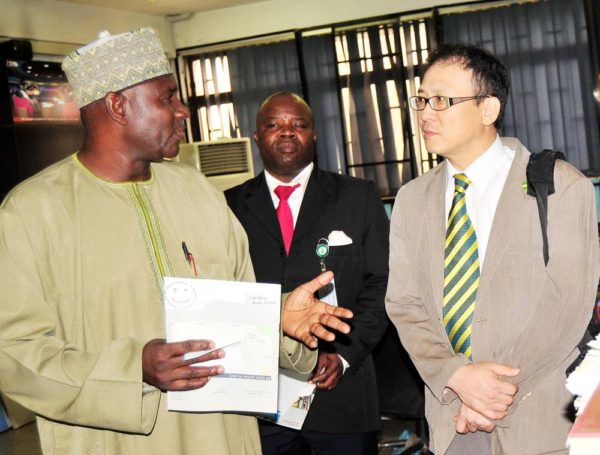 PIC. 8. RESIDENT REPRESENTATIVE KOICA VISITS NAN HEADQUARTERS IN ABUJA