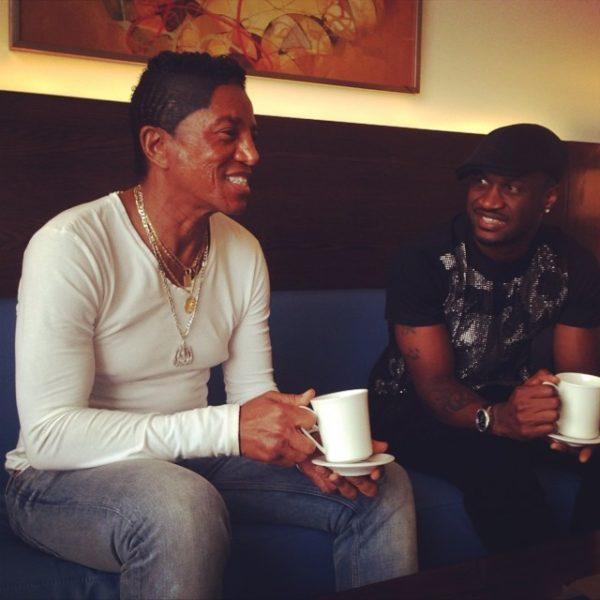 Peter Okoye & Jermaine Jackson - BN Music - July 2014 - BellaNaija.com 01