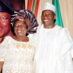 President Jonathan & Elder Sister in Abuja - July 2014 - BellaNaija.com 01