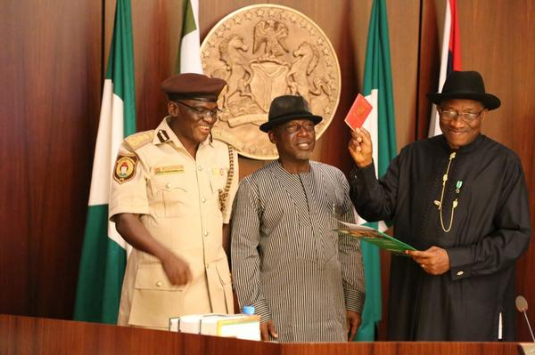 President Jonathan - July 2014 - BN News - e-passport - July 2014 - BellaNaija.com 91 (3)