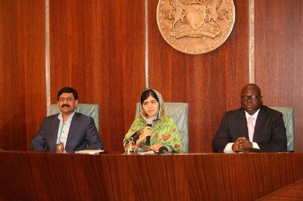 President Jonathan & Malala - July 2014 - BN News - BellaNaija.com 03