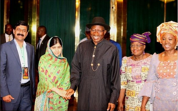 President Jonathan & Malala - July 2014 - BN News - BellaNaija.com 04