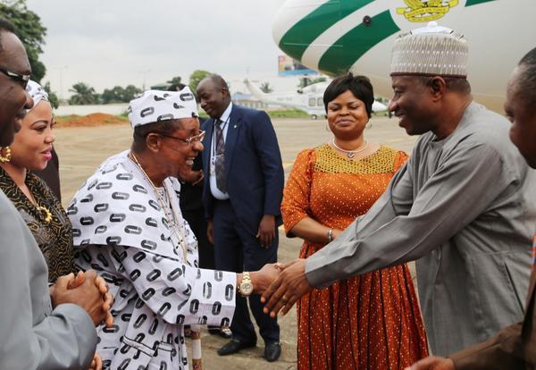 President Jonathan in Lagos - BellaNaija.com