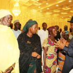 President Jonathan meets Chibok Girls Parents - July 2014 - BellaNaija,com