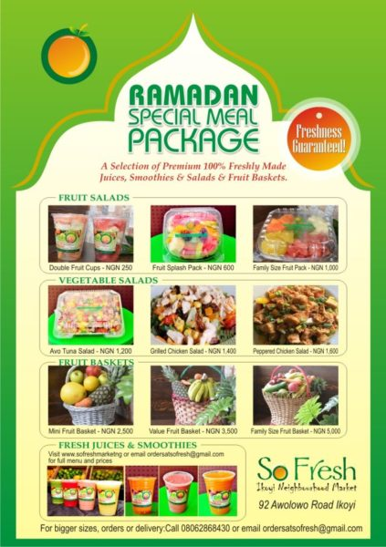 Ramadan Special Package - June 2014 - BellaNaija.com 01