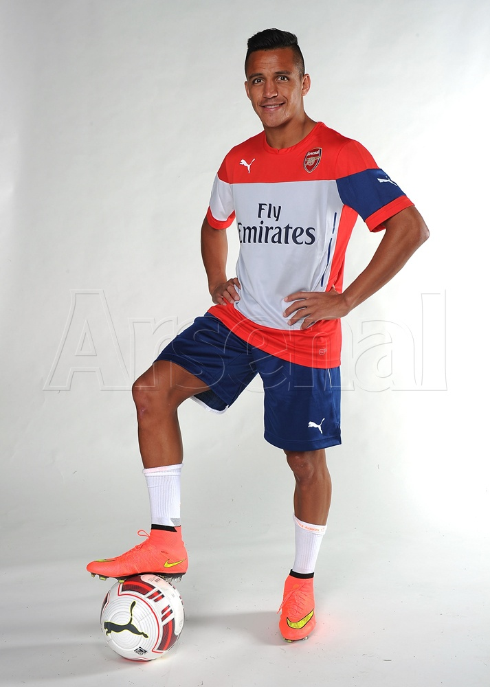 Sanchez - Arsenal - July 2014 - BellaNaija.com 03