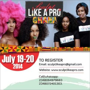 Sculpt Like A Pro Ghana - Bellanaija - July2014